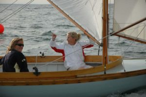 Pani Baba, H49, Sailed by Weatherly and Charlotte Dorris