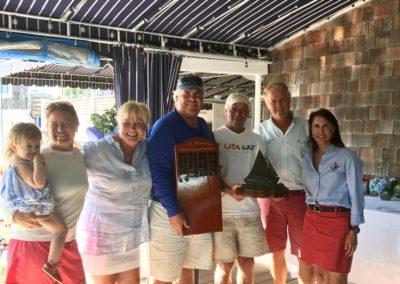 2017 Team Trophy winners - Shelter Island Yacht Club